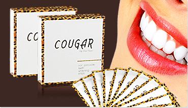 Cougar bělící pásky